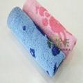 100% cotton reactive printed children towel  4
