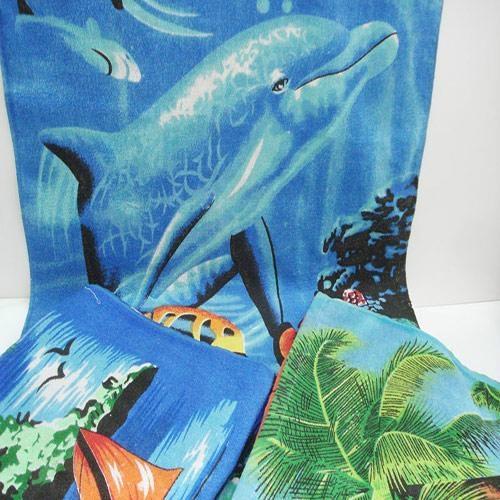 100% cotton ve  et reactive printed beach towels  1