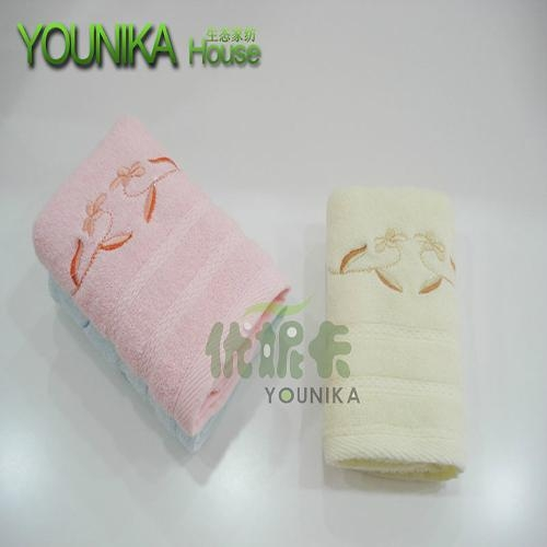 100% cotton plain embroidered gift towel  5