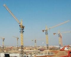 QTZ 80 tower cranes