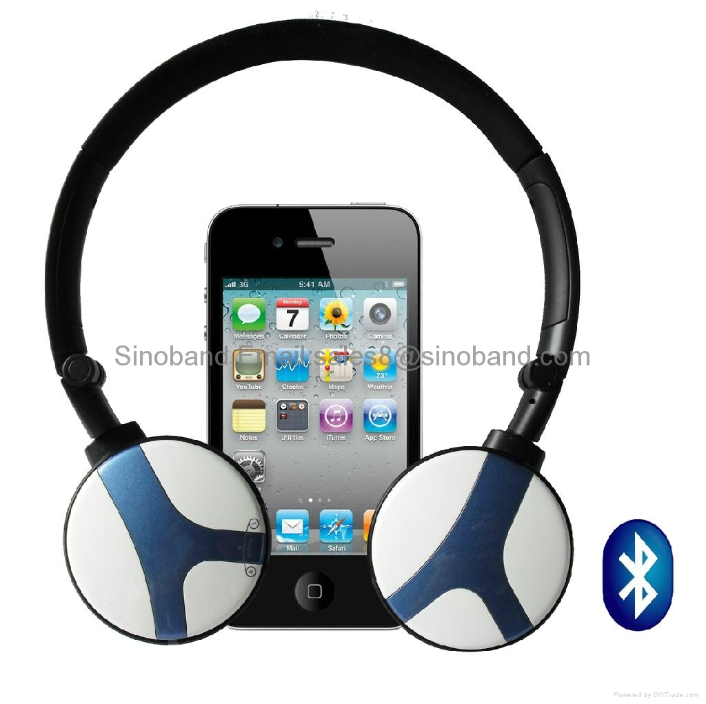 bluetooth headphones headset earphone for mp3 pc tv phone computer hth 032b. Black Bedroom Furniture Sets. Home Design Ideas
