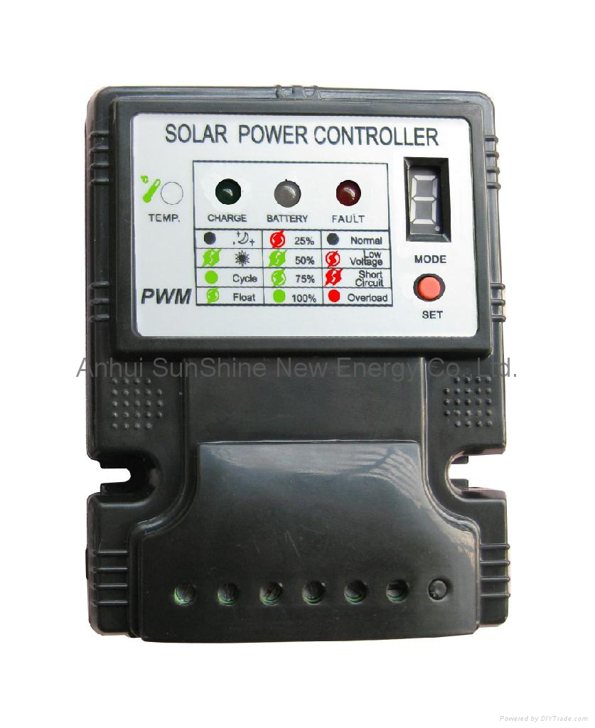 5a 10a Solar Charge Controller Ss 1 Sunshine China