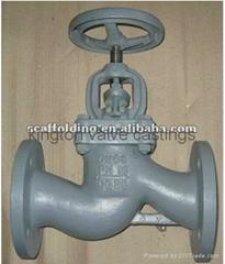 DIN Cast Iron Flanged Globe Valve DIN2501