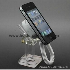Acrylic mobile phone display stands holders