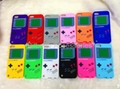 Silicone gameboy case cover for ipod touch 5