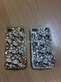 For iPhone 5 Diamond Case! Skull Design Diamond hard case back cover  for iphone