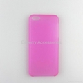 0.5mm ultra thin clear case for iphone 5C