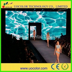 high resolution indoor led stage backdrop display