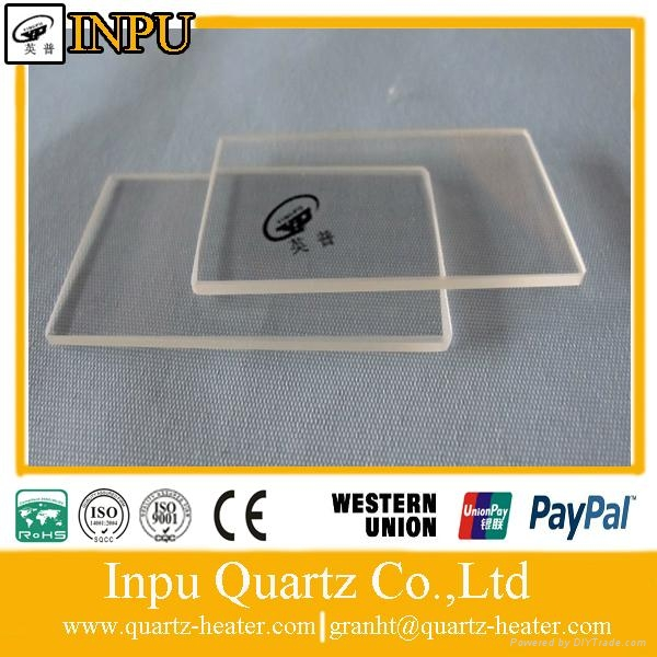 thin quartz glass sheet  1