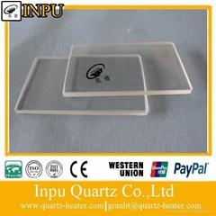 thin quartz glass sheet