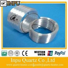 helical far infrared quartz heater element