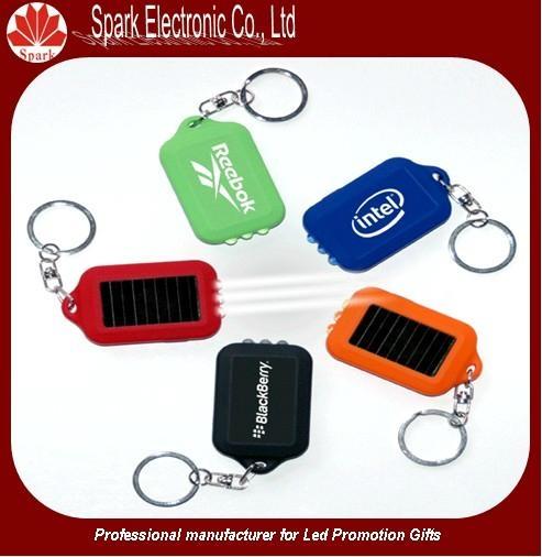 LED flashing solar keychain 3