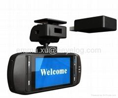 New Original Ambarella A5S30 Car DVR Video Camera EHD63 + GPS Logger