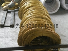 1.2mm zinc coat brass wire