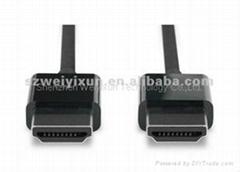 For Apple Original HDMI to HDMI Cable (1.8 m) MC838ZM/A Digital AV for HDTV 1080