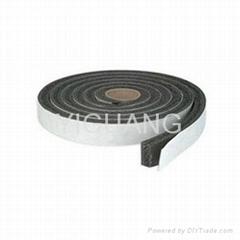 adhesive silicone sponge foam strip cord