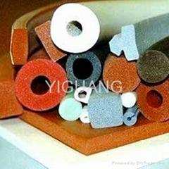 silicone foam sponge tube