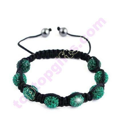 clay rhinestone Shamballa Tresor Paris bracelets 2
