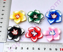 2013 new fimo flower perfume bottle decoration