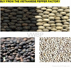 Vietnamese White & Black Pepper