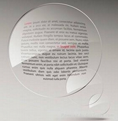 1.56 un-coated resin lens