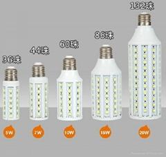 SMD 5050 102PCS E27 12W LED Corn Bulb light lamp