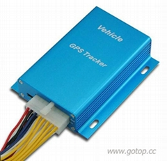 Car GPS tracker with engine cut function
