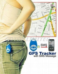 GSM/GPRS GPS tracker with SOS button