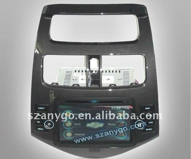 "7"" Chevrolet Spark Car DVD GPS 3G Function 1"