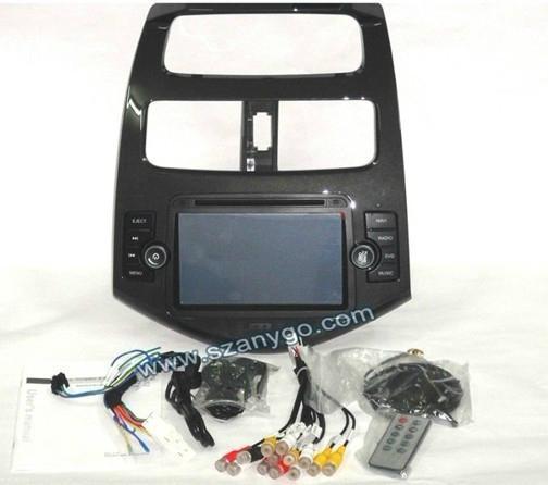 "7"" Chevrolet Spark Car DVD GPS 3G Function 2"