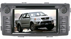 Car Dvd Player for Toyota Hilux 2012 with speaker box