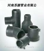 供應鋼絲網骨架PE管件