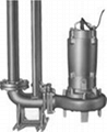 WQ Non-clog Submersible Sewage Pump(With Coupled Device) 1