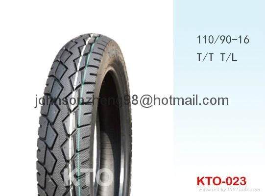 good quality motorcycle tires 110/90-16 (tubeless) 1