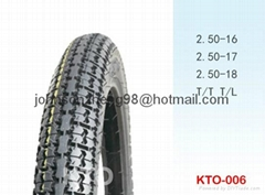 good quality 2.50-16,2.50-17 motorcycle tires