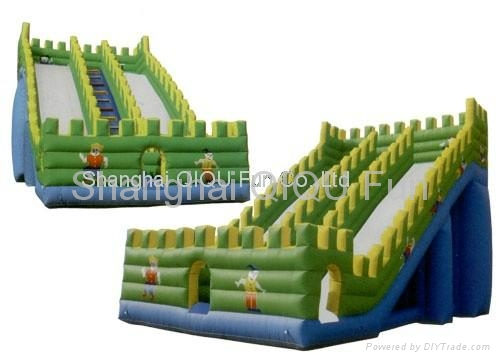 2012 hot sales inflatale slide,water slide,floating slide 1