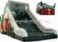 2012 hot sales inflatale slide,water slide,floating slide 3