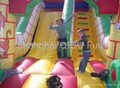 2012 hot sales inflatale slide,water slide,floating slide 4