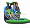 2012 hot sales inflatable dry slides 2