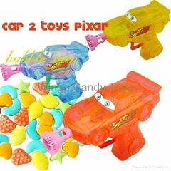 Pixar Cars2 bubble candy toy lastest item 2012