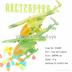 helicopter candy toys plane candy toys