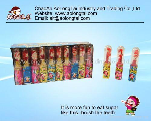 China toothbrush sugar-toothbrush sugar-ChinaAoLongTai 1