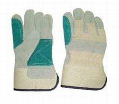 "10.5"" Cowhide Split Leather Work Gloves"