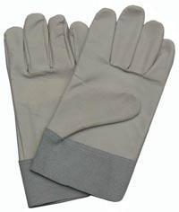 "10.5""Light Grain Pigskin Palm Leather Work Gloves"