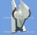 太陽能光伏屋頂820彩鋼瓦夾具鋁合金 1