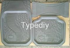 3D PVC Car Floor Mat