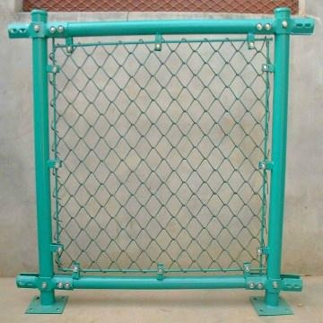 PVC chain link fence 5