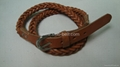 Women hand-knit leather belt, belt (Hot Product - 1*)