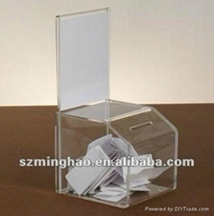 Acrylic Ballot/Complain/Suggestion Box