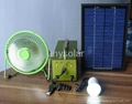 Mini 5 watt solar system power for home use